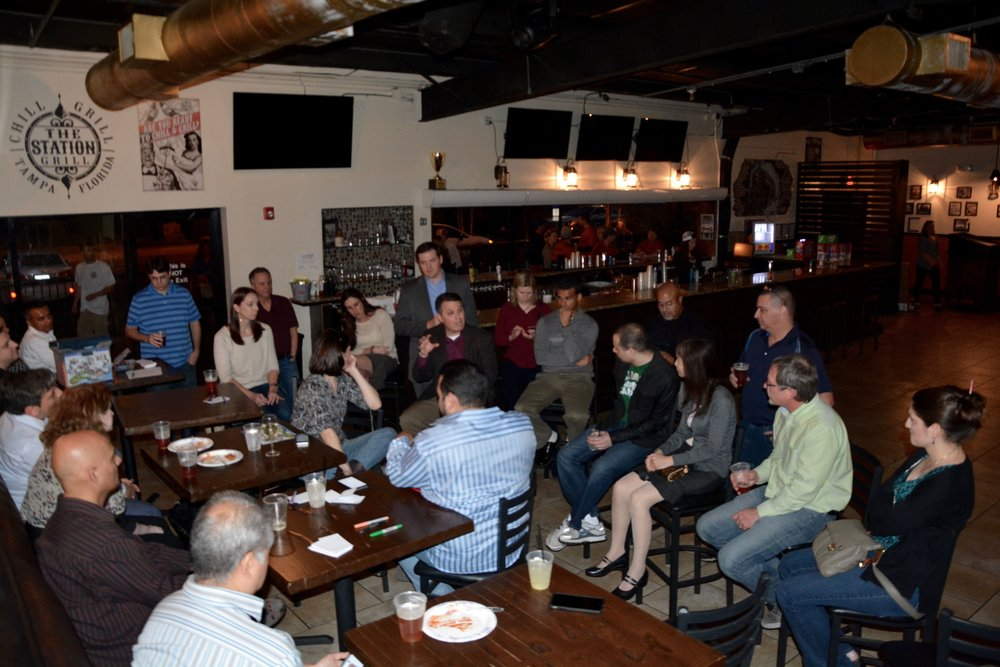 Events - All Tampa Agile events are on meetup.com/tampa-bay-agile/Lean Beer - Third Thursday of every month! Come join us after work in Ybor where we talk Agile/Scrum!Product Owners Guild - Second Wednesday of every other month!ScrumMaster's Guild - First Wednesday of every month!