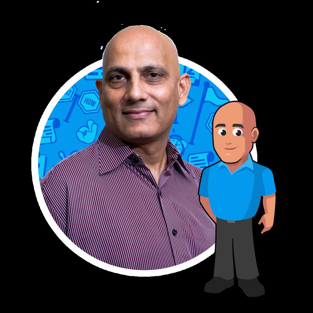 "Hemant ""Om"" Patel  - Agile Coach"