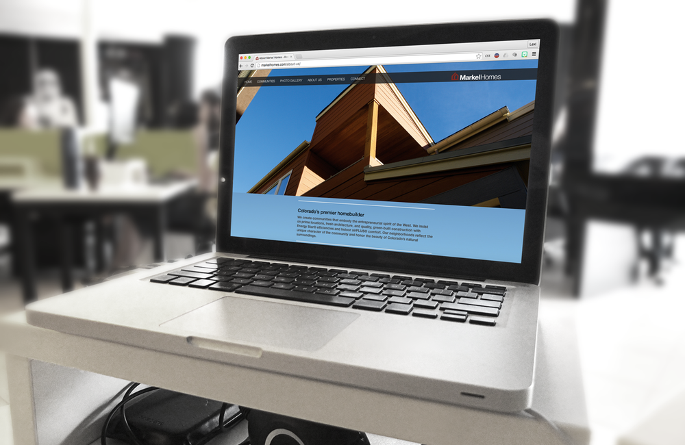 Content Creation for Markel Homes website
