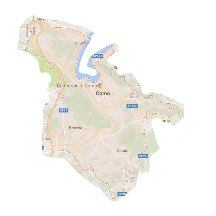 Via: Google Maps y  my Picasso skills
