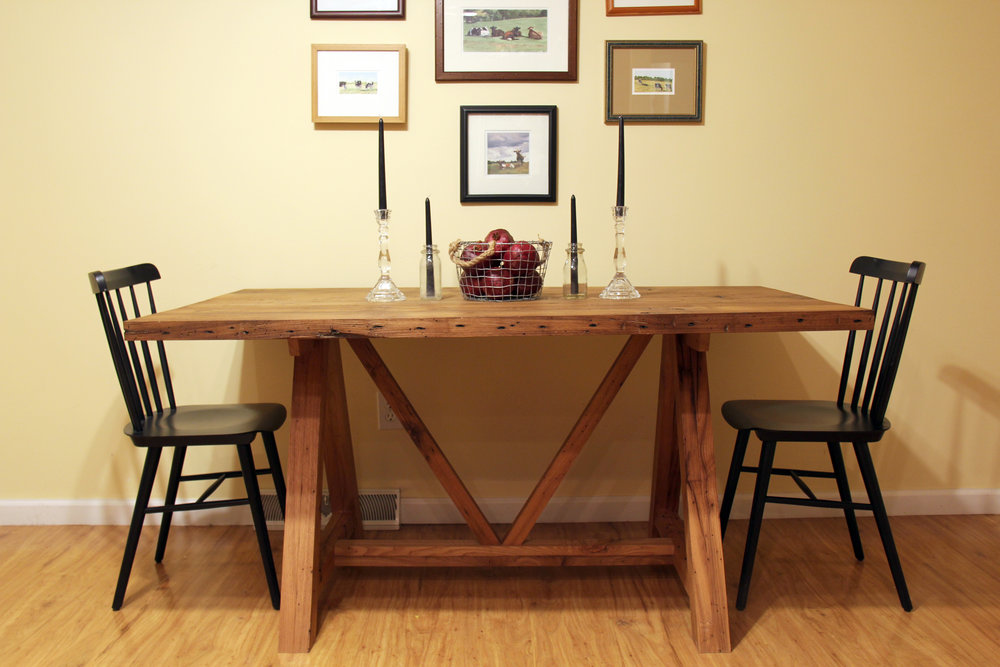 Tables - Want an original space for your family? Order a custom table for any amount of seats you need. I'll create a piece to fit the size and layout of your room.