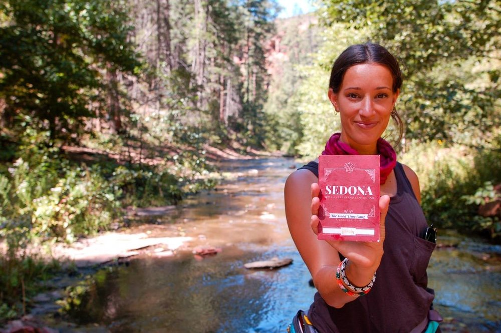 Testing local hikes for our Sedona TripGuide.
