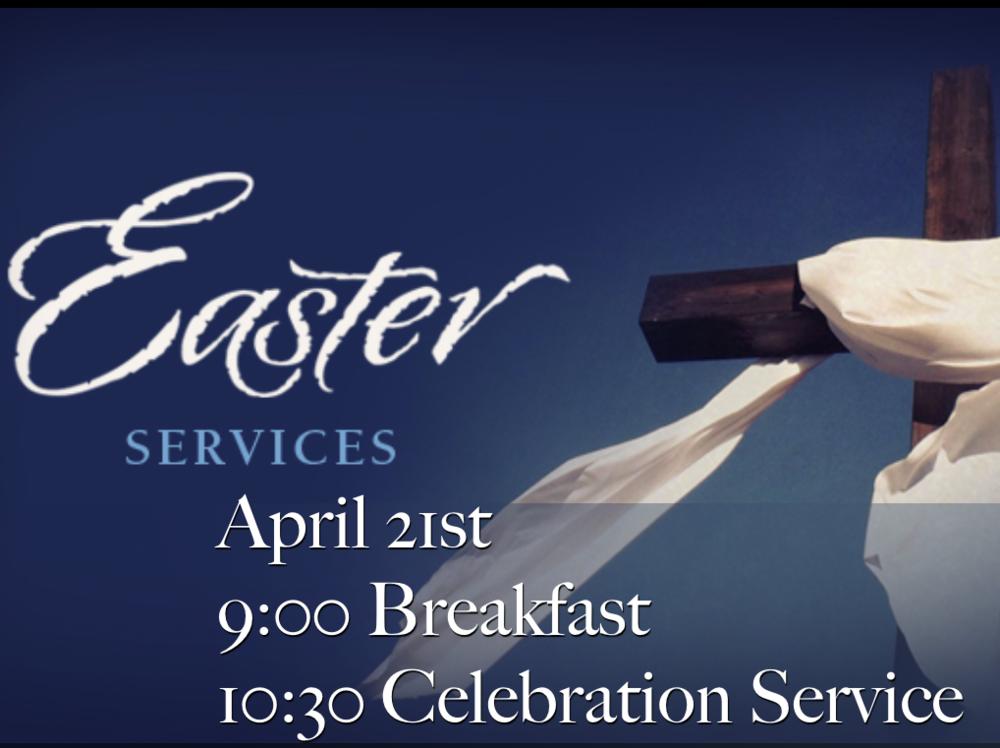 Join us for Easter Celebration