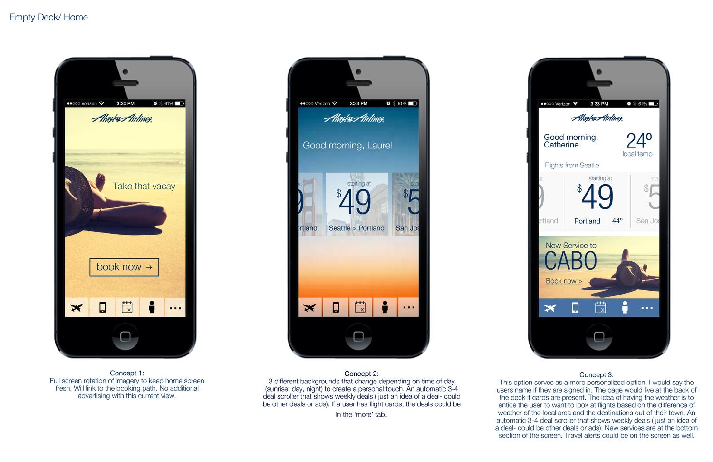 Alaska Airline\'s Mobile iOS App Redesign — Laurel Simone