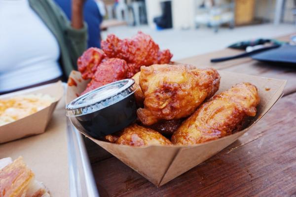 Spicy & Soy Garlic wings