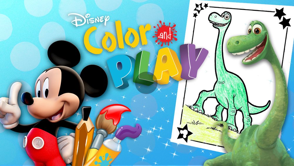 Disney Color and Play — Rich Ginter.com