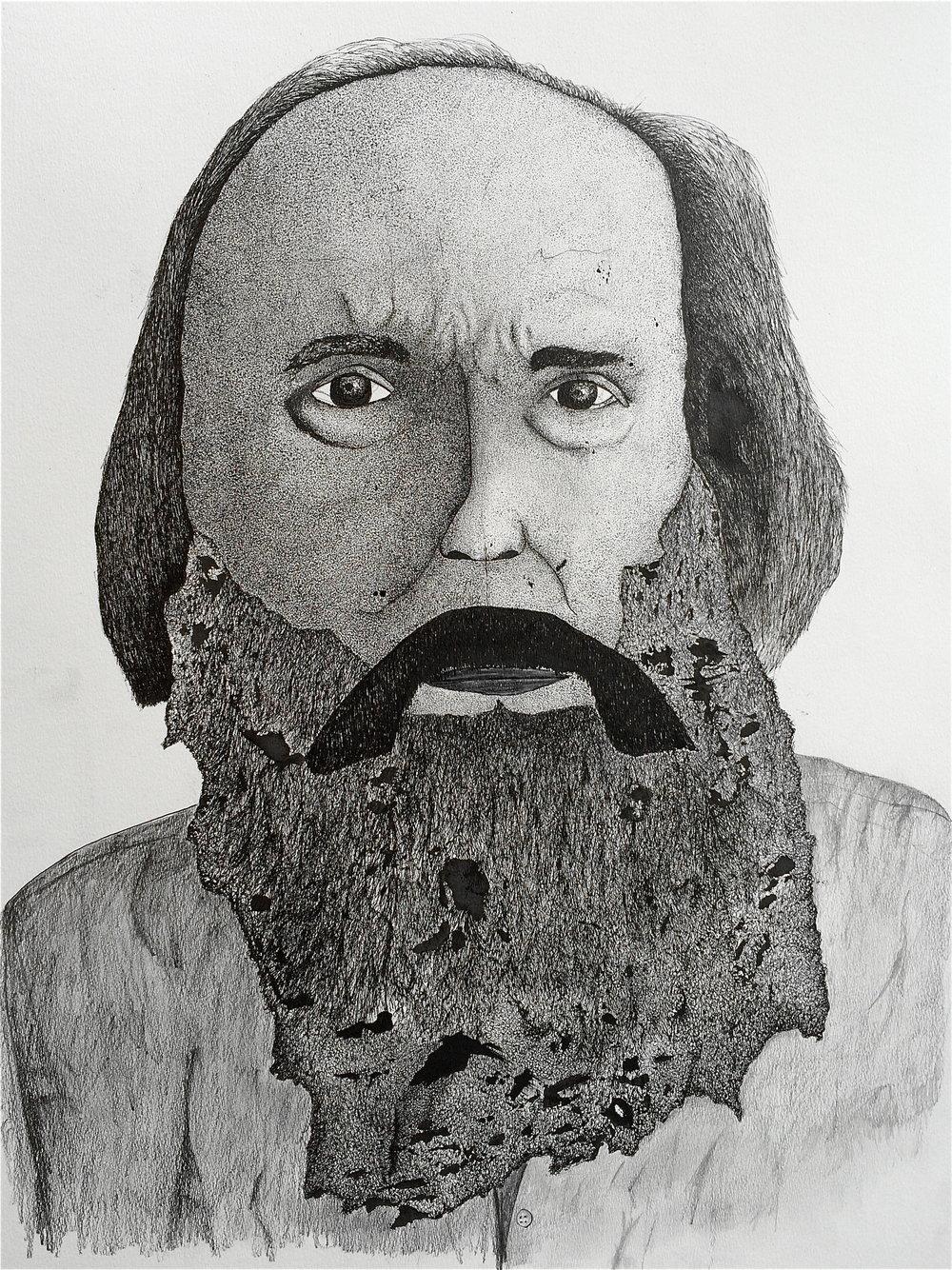 Portrait of Lubomyr Melnyk, 2016