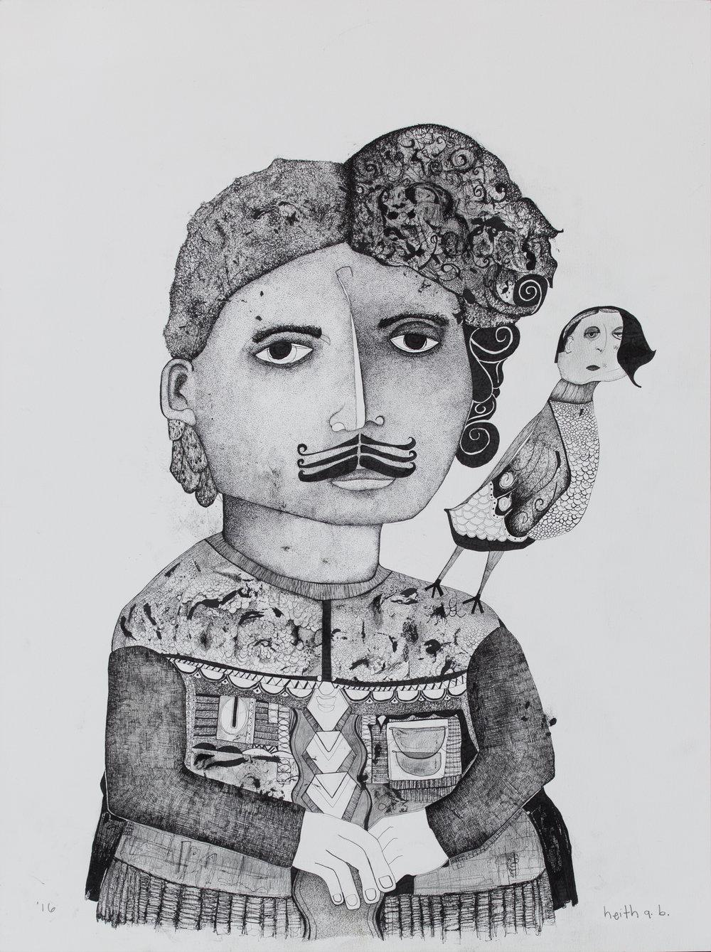 Portrait of Ambrose Bierce, 2016