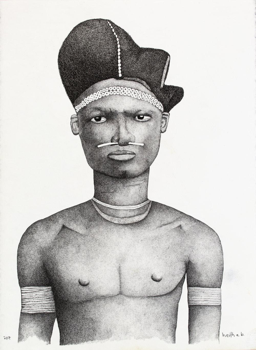 Gabonese Man