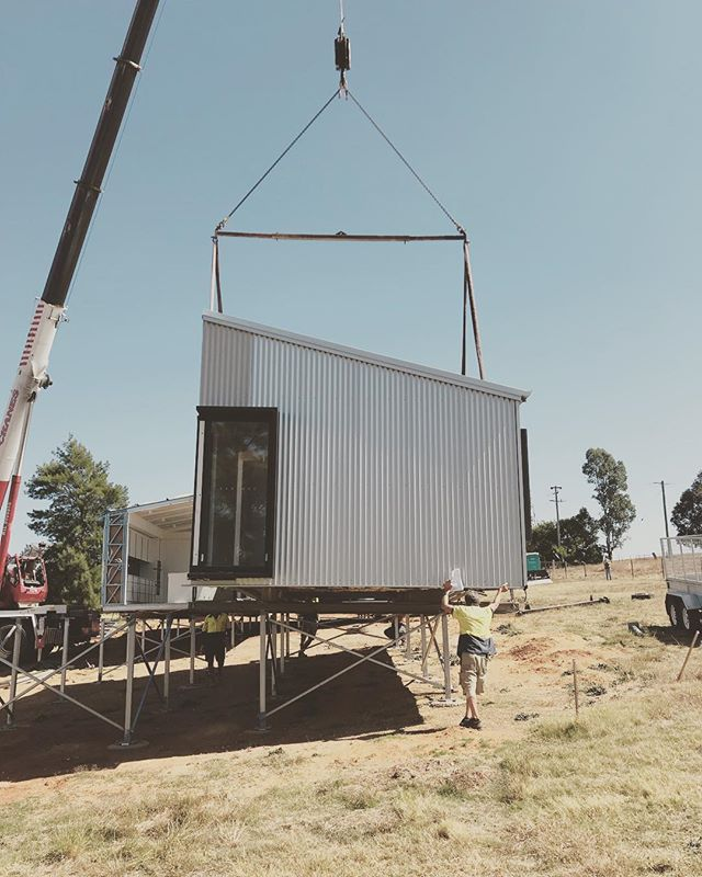 On site for our Cowra crane in!