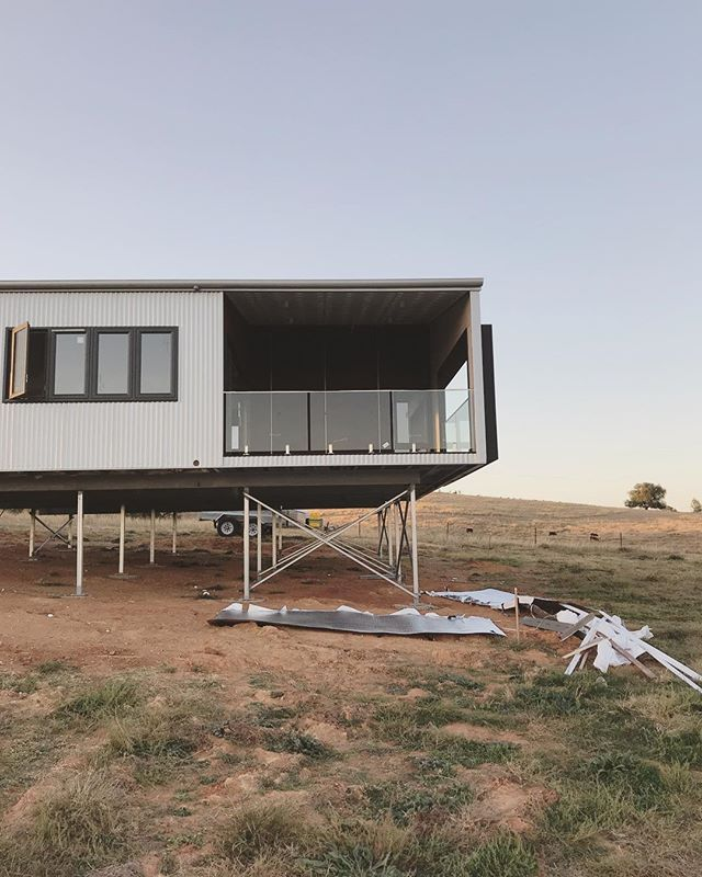 Our Cowra project in its new surroundings.