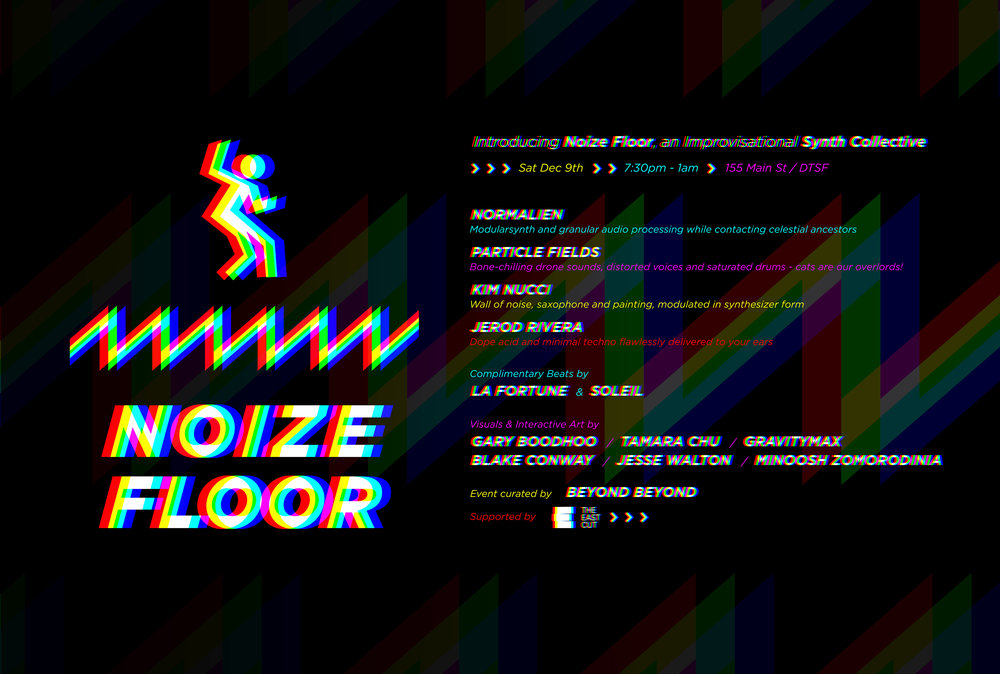 Noize Floor Flyer for print 4x6 RGB