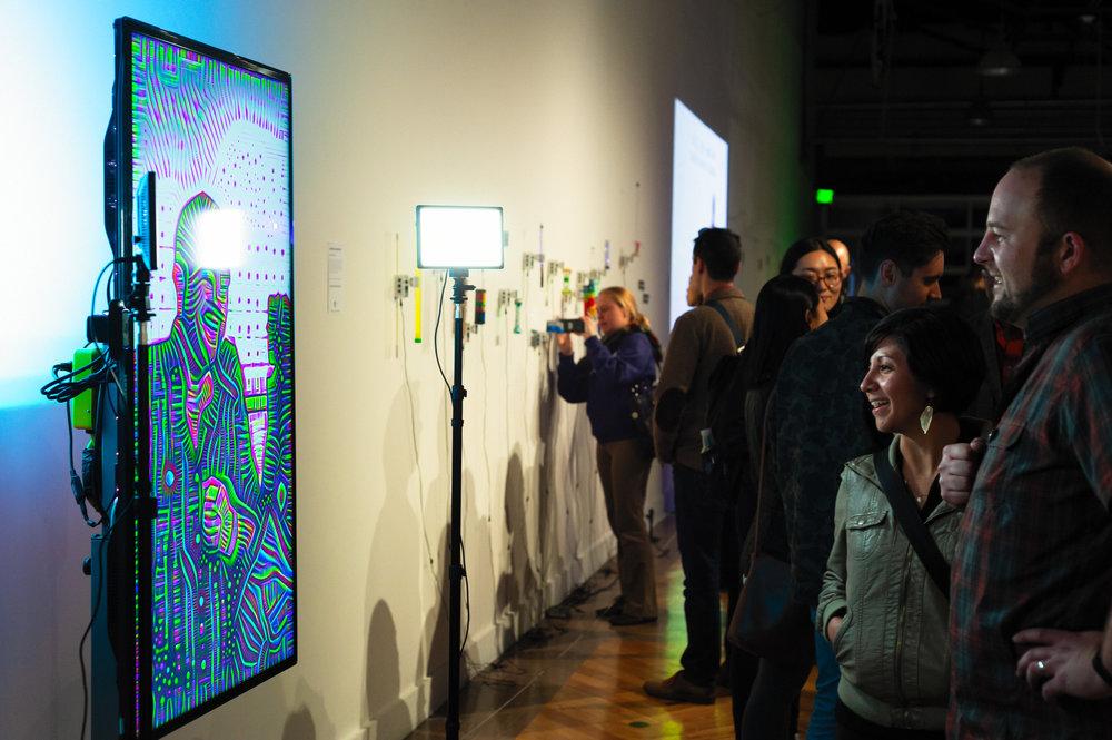 02018  CODAME Art+Tech Festival 2018 , The Midway, San Francisco, CA USA