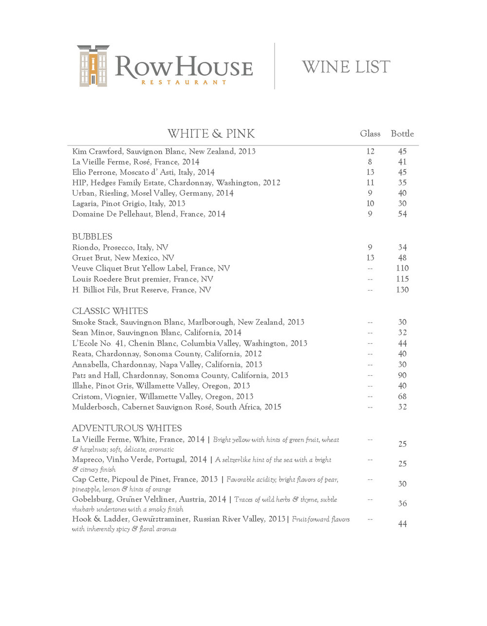 DOWNLOAD WINE LIST (PDF)