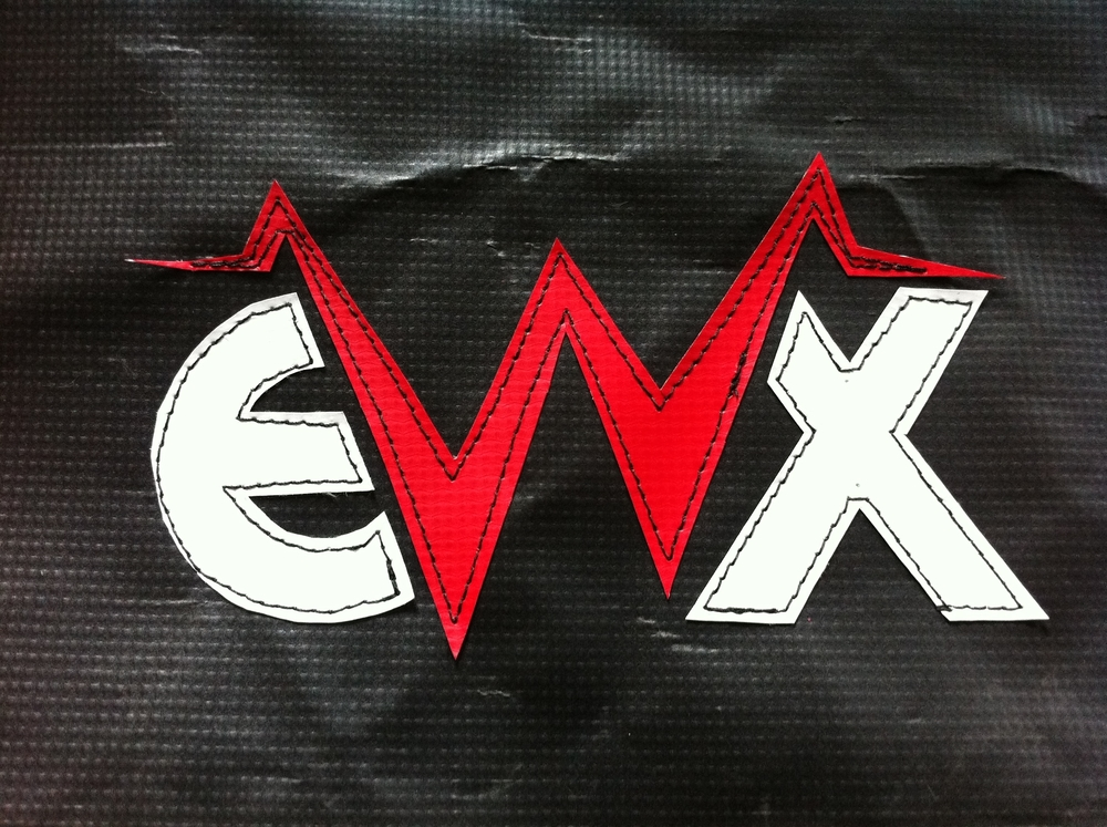 Endurancewerx vinyl logo and backpacks