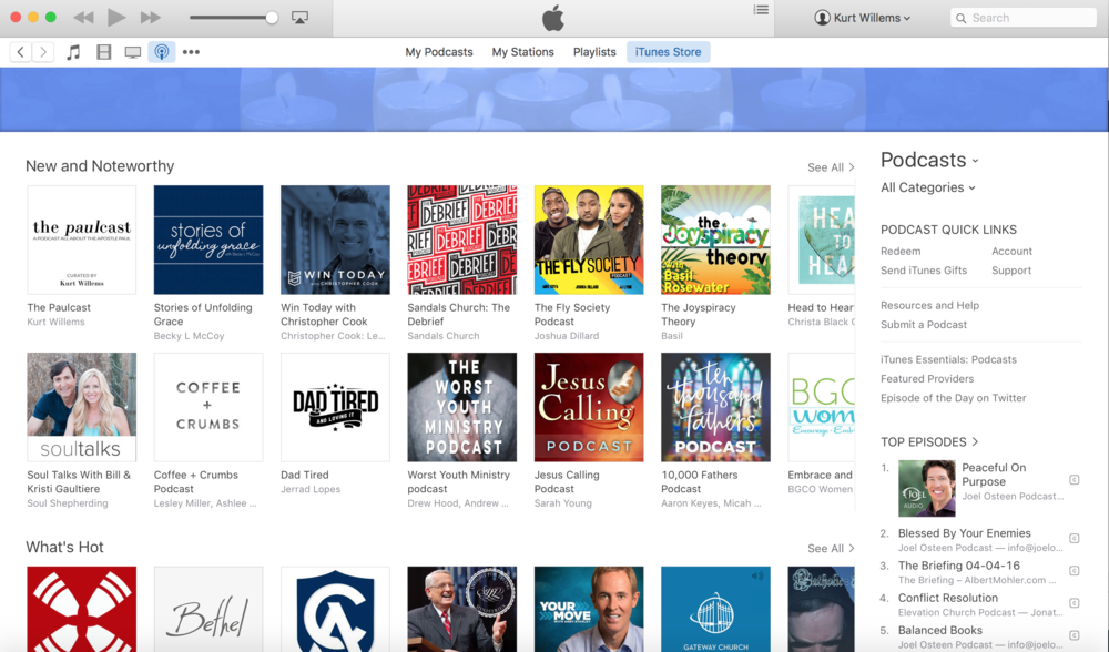 Thanks to your support, we made it to the featured section of iTunes within the second week of launching! Keep spreading the word about The Paulcast so we can carry forward this important conversation about Paul!