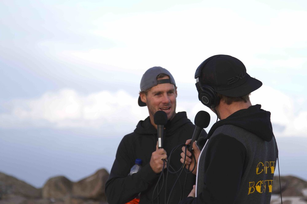 Clint Kimmins on The Roving Mic with Hayden Quinn