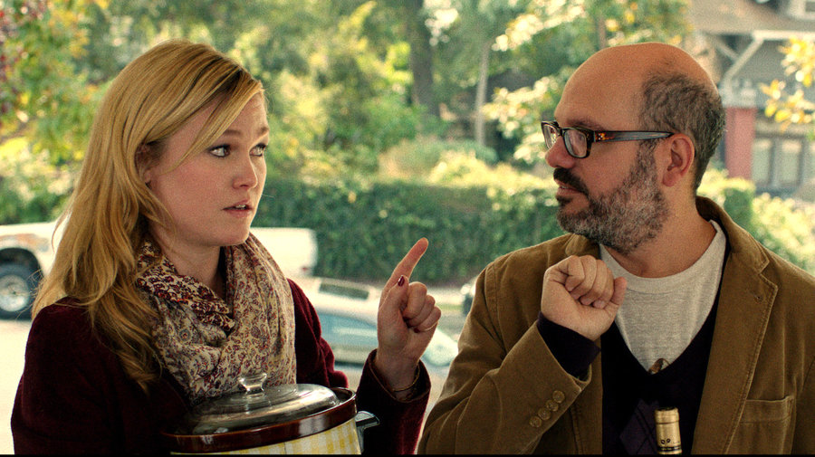 Julia Stiles and David Cross in IT'S A DISASTER