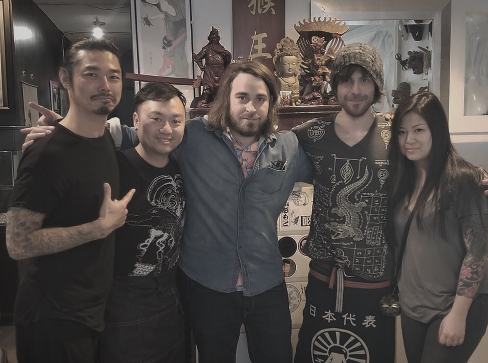 Thank you Jeff Tam and all the artist at the Monkey King Tattoos for hosting us for a guest spot this year. Tattooing with you was an amazing experience! Can't wait to see you in the Okanagan!