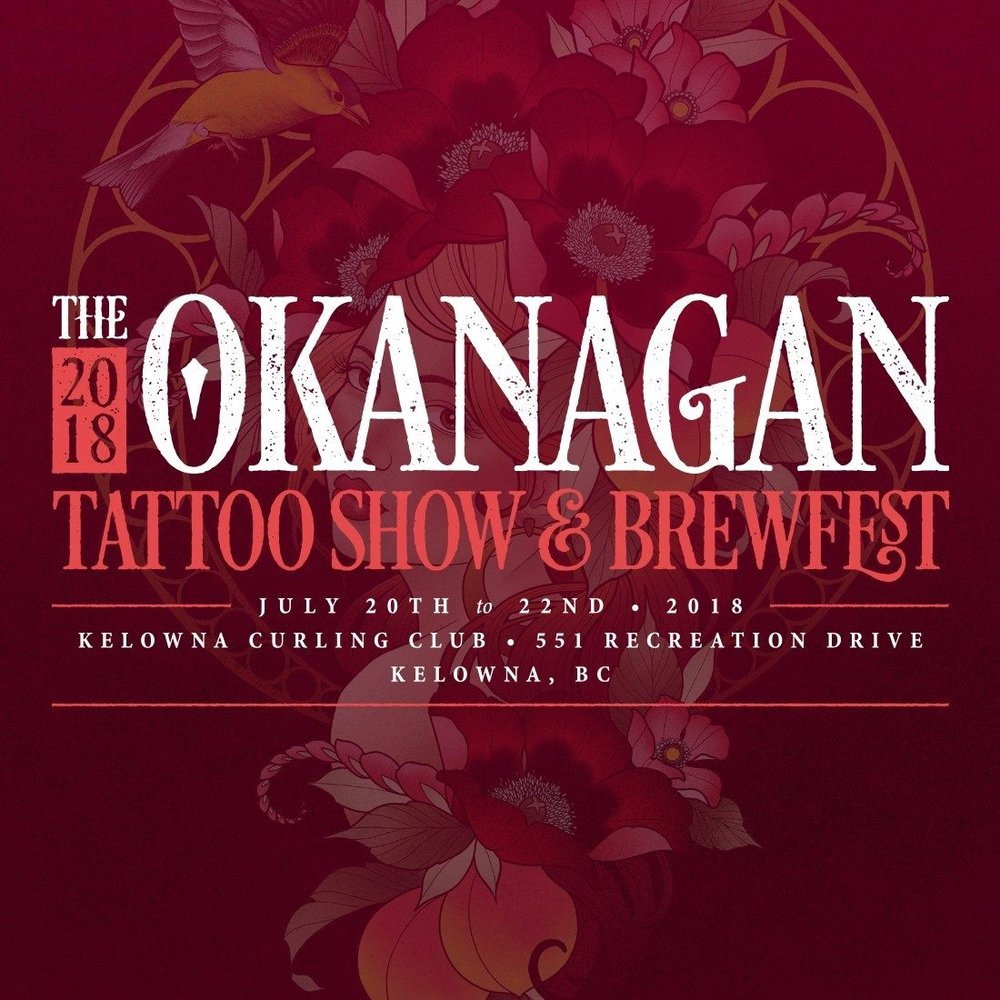 NSI Tattoo will be participants in the 6th annual Okanagan Tattoo Show from July 20th to 22nd at the Kelowna Curling Club. If you are interested in getting tattooed at the Show, lets us know!