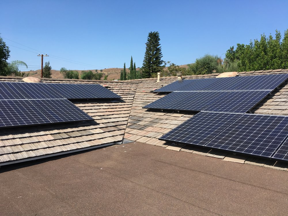 BREA, CA - 24 high efficiency PV modules total to 7.92 kWDC located in Brea.  This system was commissioned in 2017 and is expected to save the Homeowner over $80,000 in electricity bills over the next 25 years.