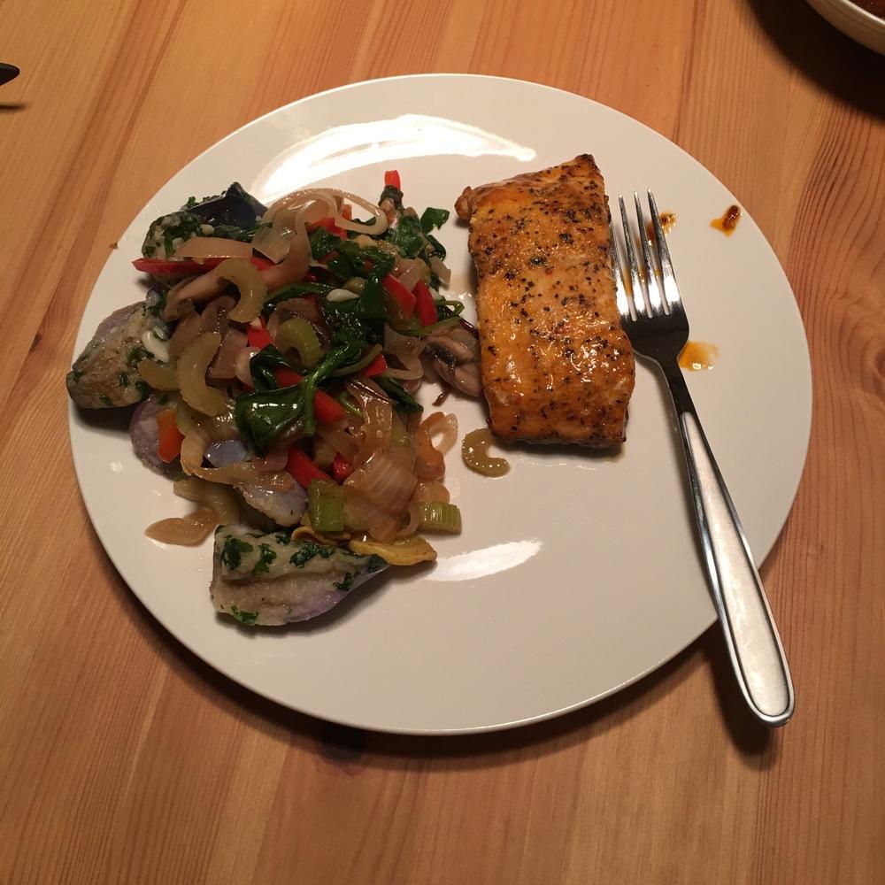 Day 18 Dinner
