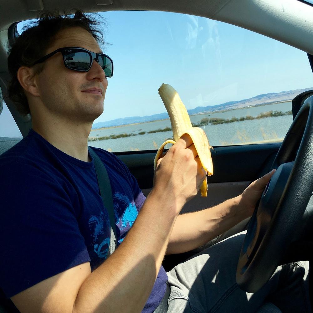 Have banana will travel.