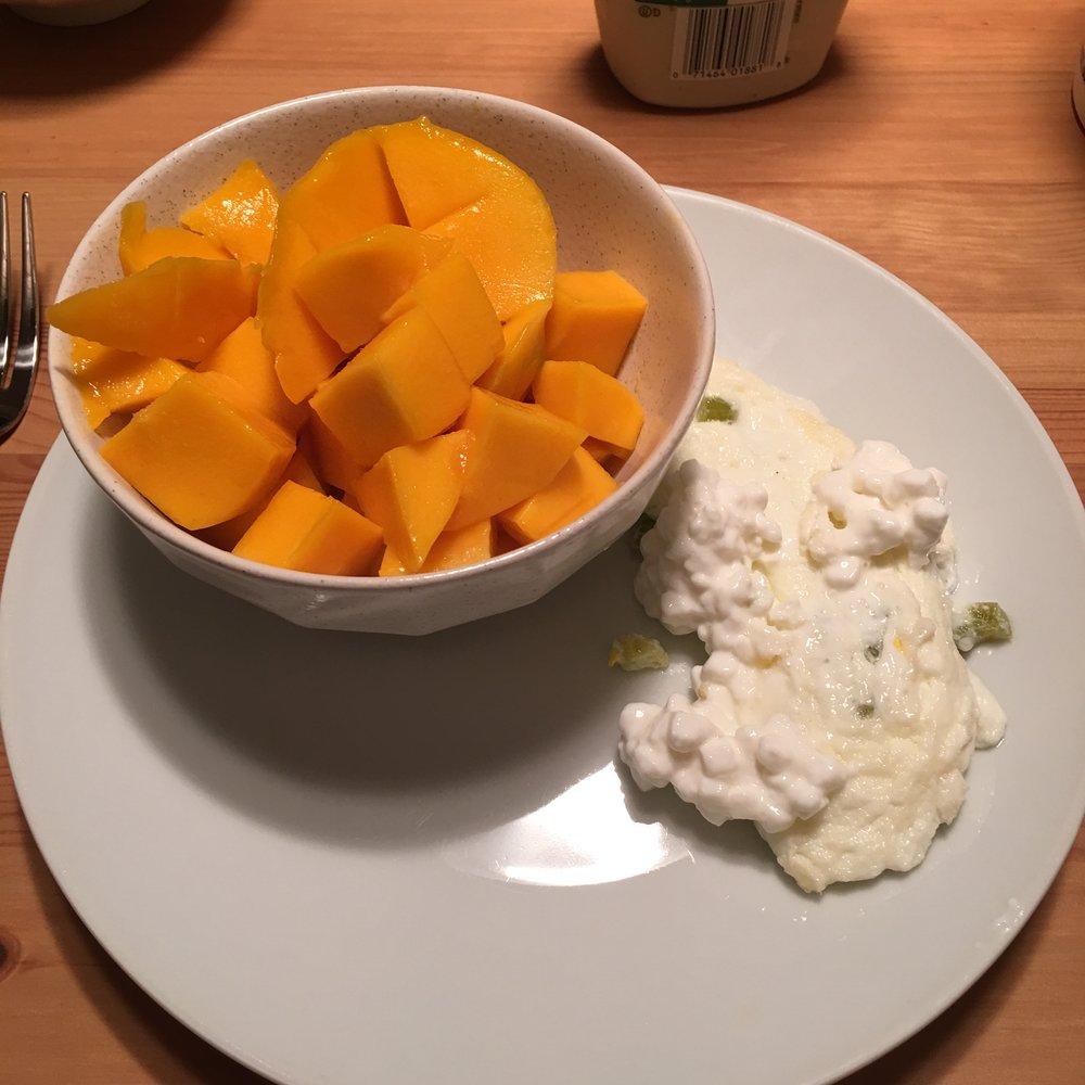 Day 35 Dinner