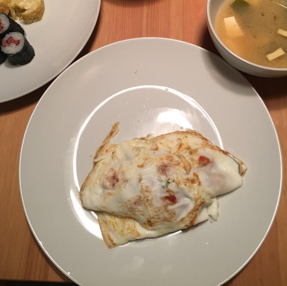Day 63 dinner