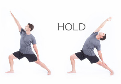 Reach exercises ask your body to express its fluidity and range of motion.