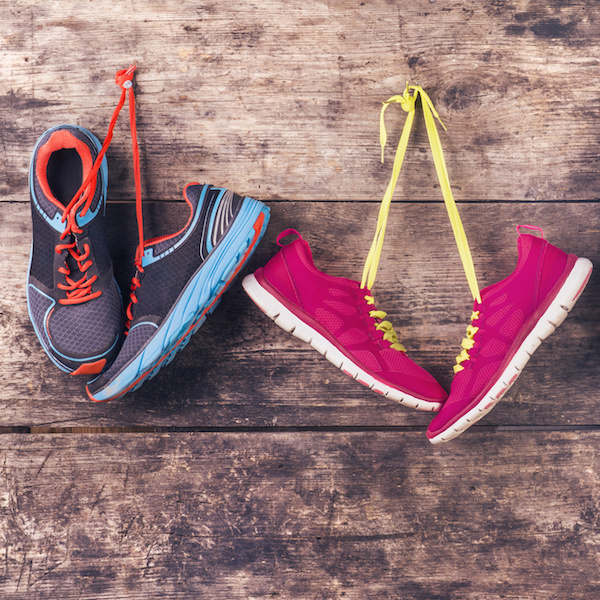 Barefoot exercise is good for many types of exercise, but not jumping rope. Lace up!
