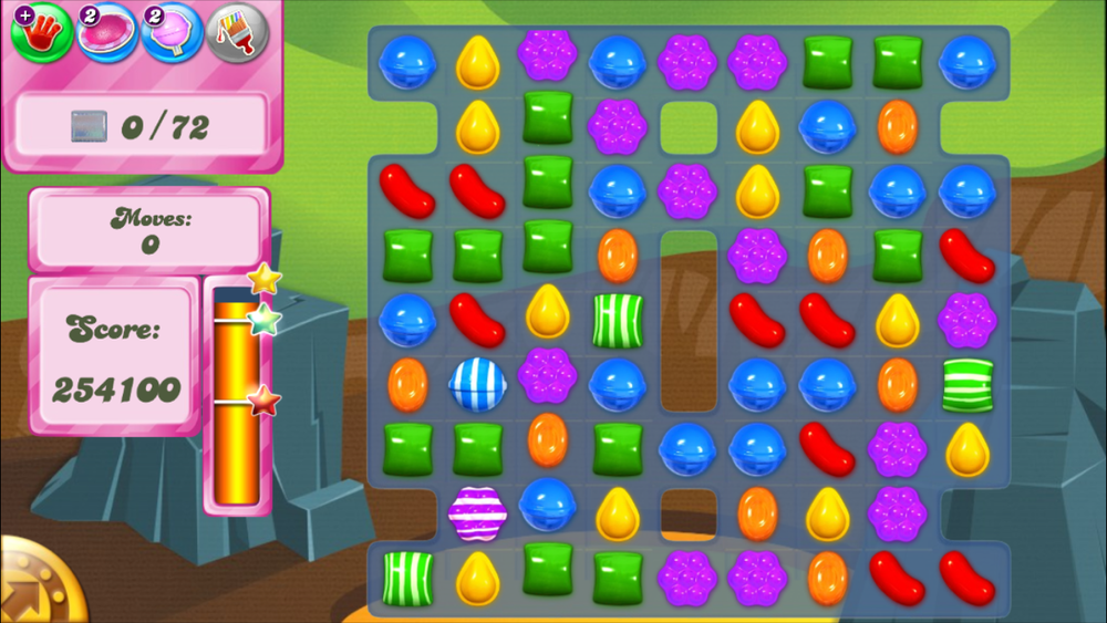 This was one of my proudest Candy Crush moments :)