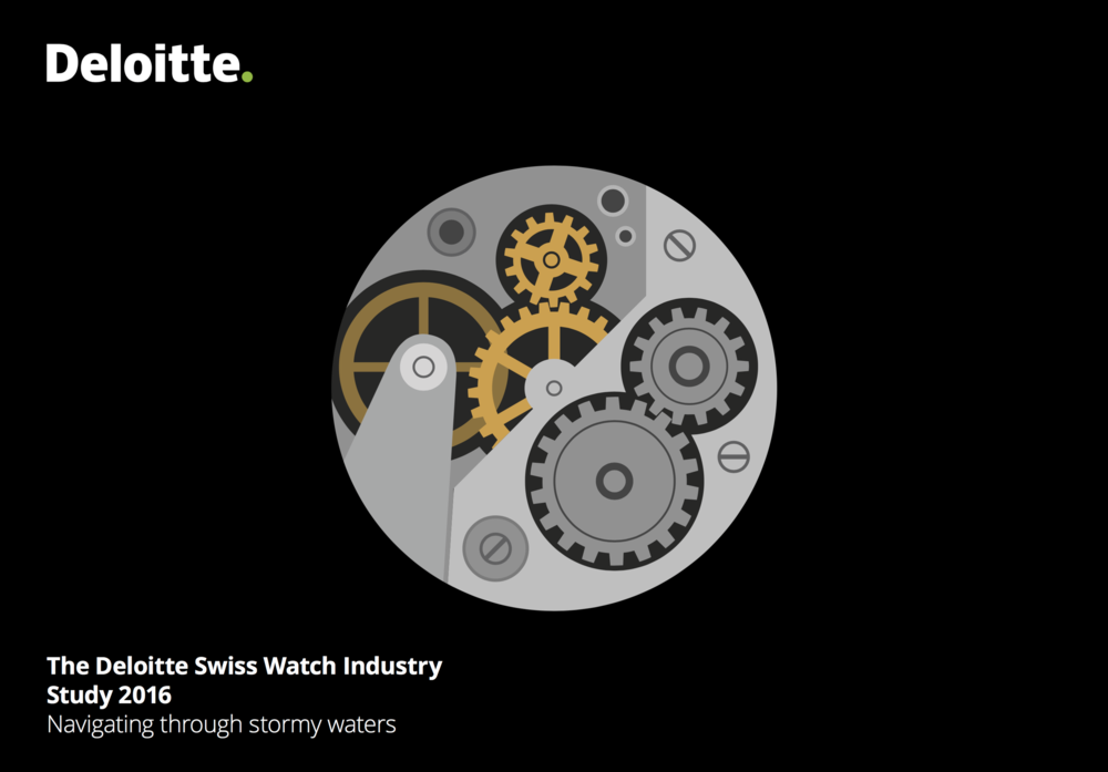 The new Study from Deloitte concerning the Swiss Watch Industry is out. Download here