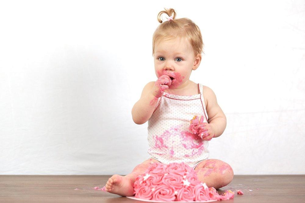 smash cake fotoshoot meisje
