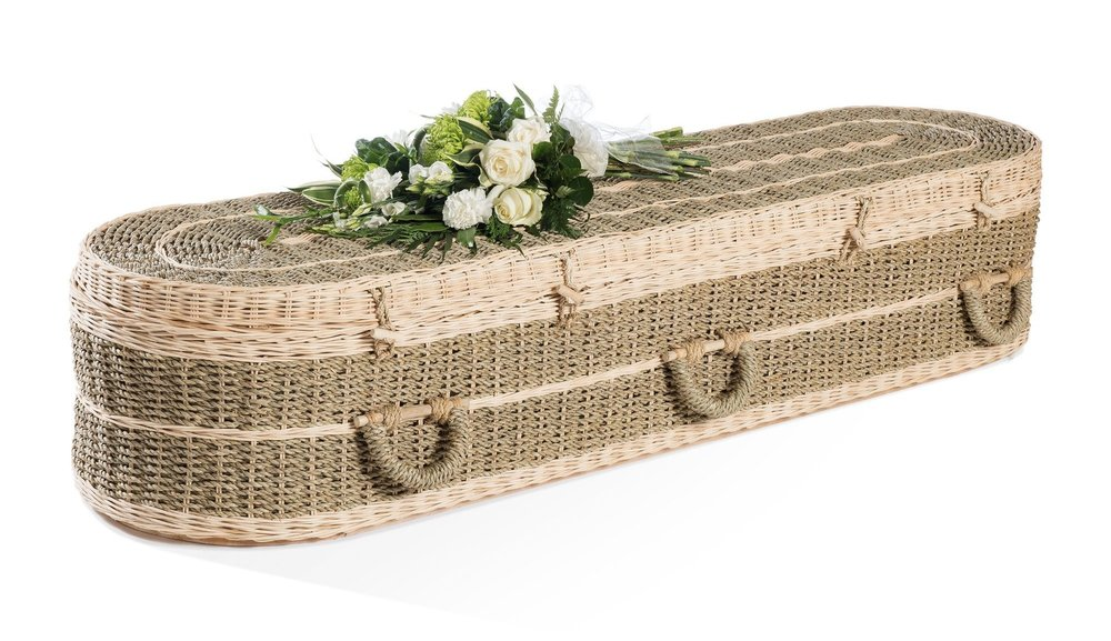 Pandanus coffin -   Available From thinkwillow.com