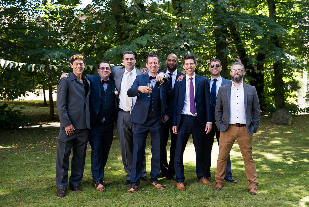Relaxed group photography in summer gardens. © Jessica Grace Photography