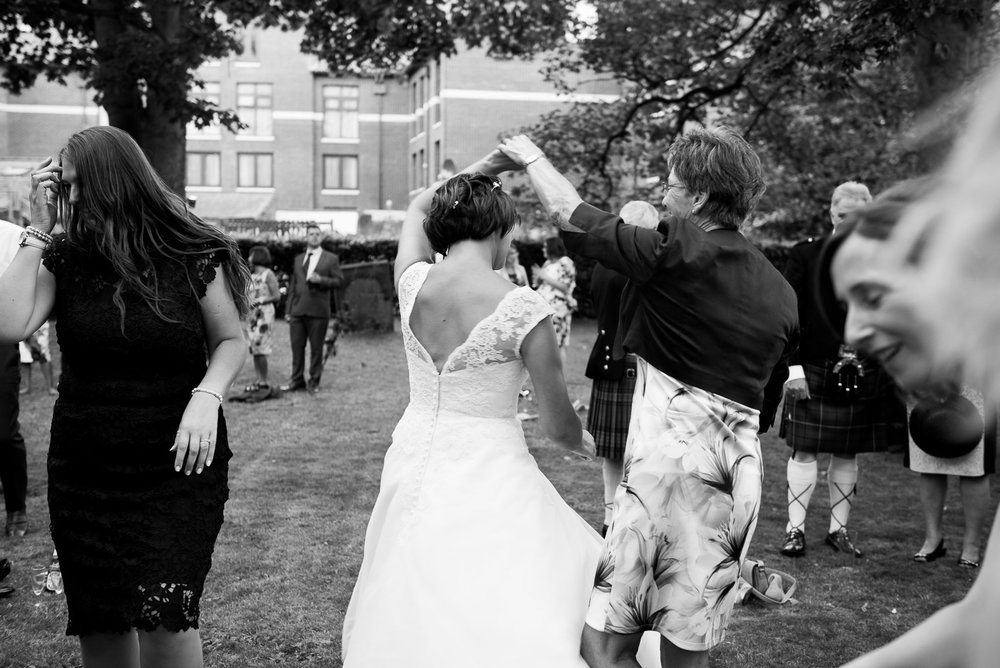 Enthusiastic fun lively wedding, York. © Jessica Grace Photography