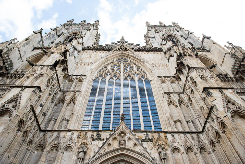 Wedding photography at the York Minster