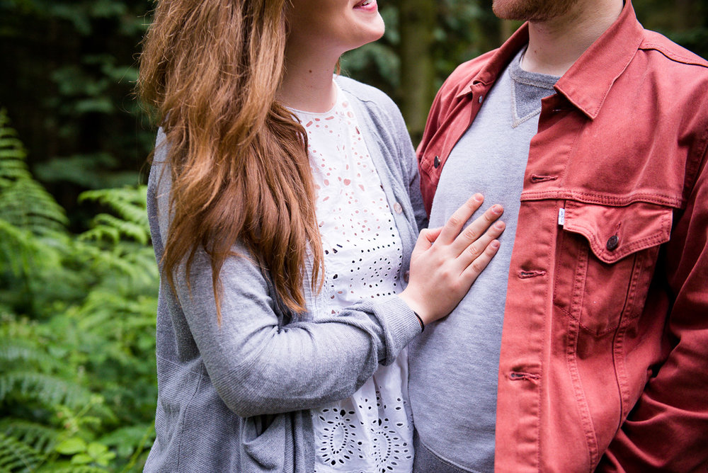 Creative engagement photography © Jessica Grace Photography