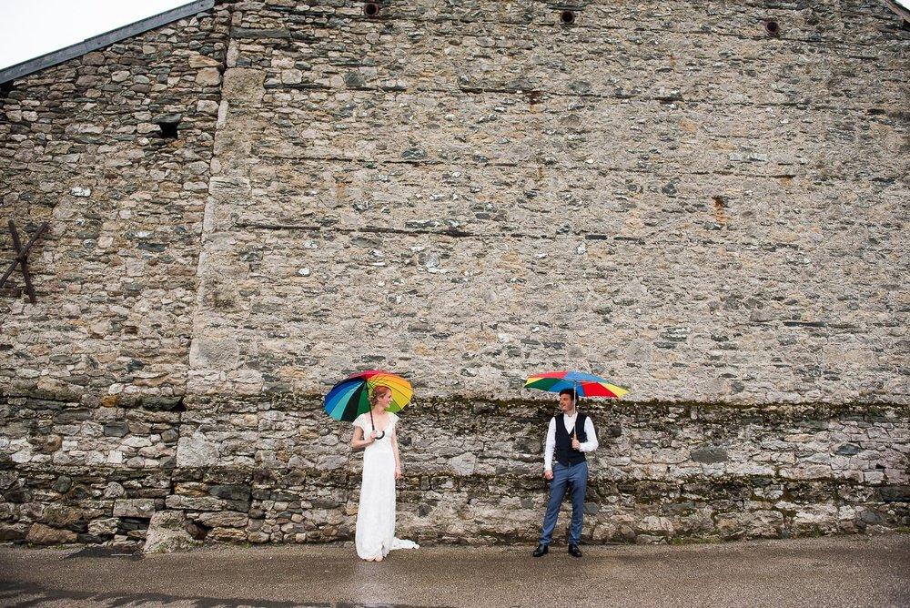 Creative wedding portrait © Jessica Grace Photography