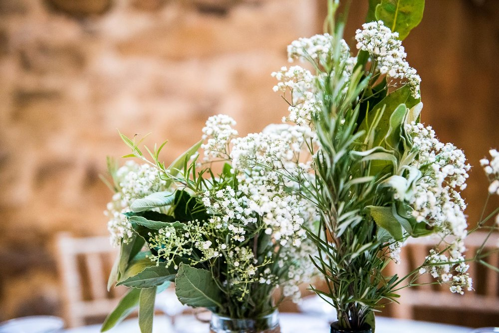 Pretty green florals by Floristry By Carmen © Jessica Grace Photography