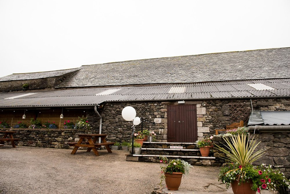 Park House Barn wedding venue in Cumbria © Jessica Grace Photography
