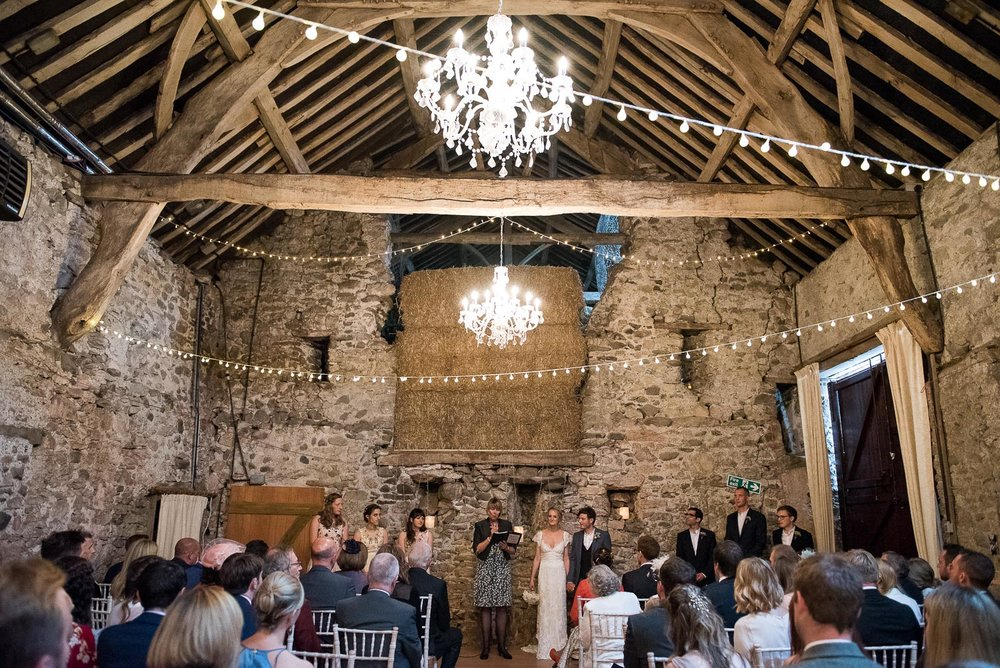 Park House Barn rustic wedding venue  © Jessica Grace Photography