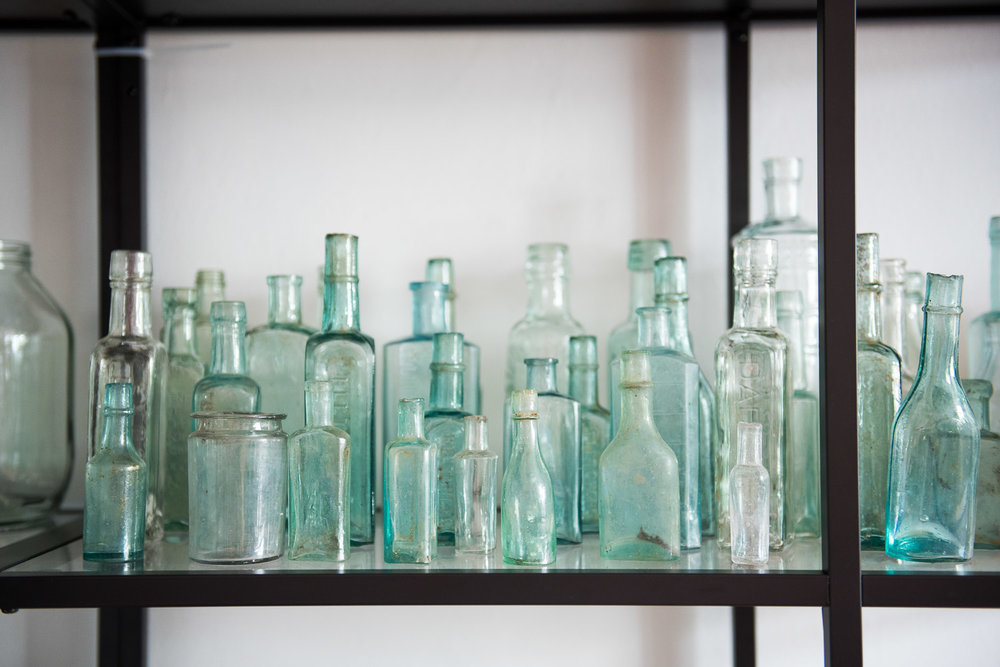 Collection of vintage glass bottles © Jessica Grace Photography.jpg