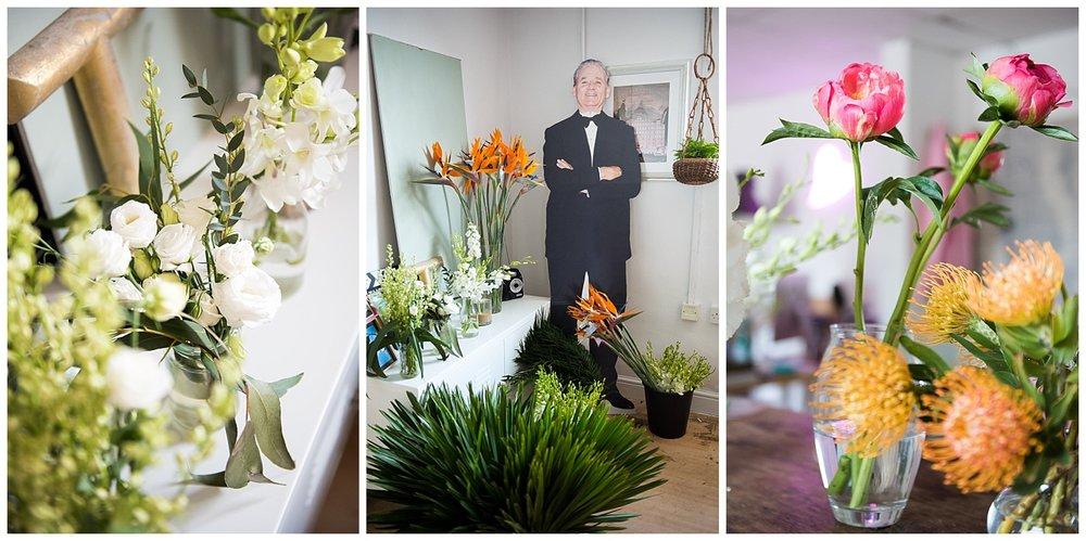 Details of an Essex wedding florist studio © Jessica Grace Photography