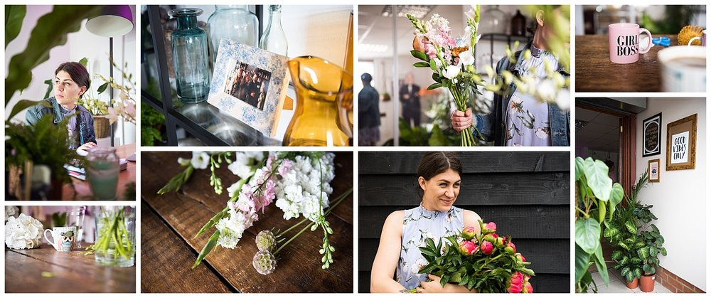 Snap Shot of A Day In The Life of an Essex Wedding Florist © Jessica Grace Photography