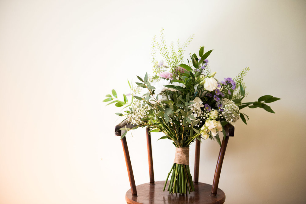Hand made bridal bouquet © Jessica Grace Photography