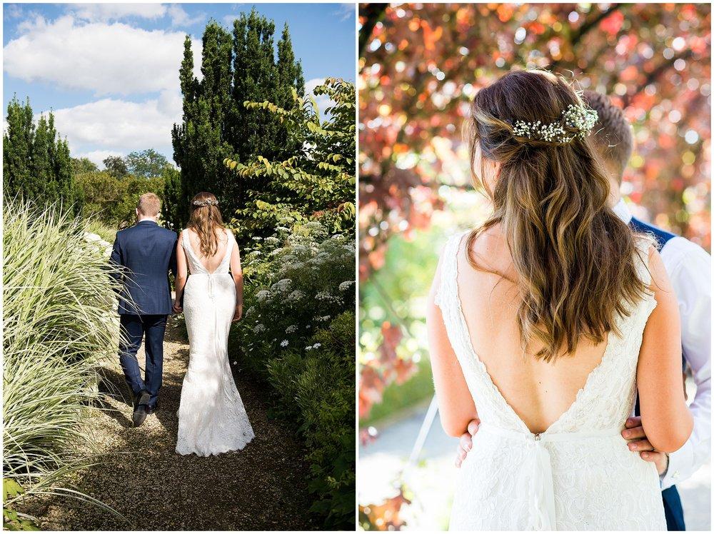Gorgeous Maggie Soterro bride, Losley Park