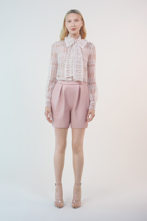 MATHILDA BLOUSE / MORGEN SHORTS