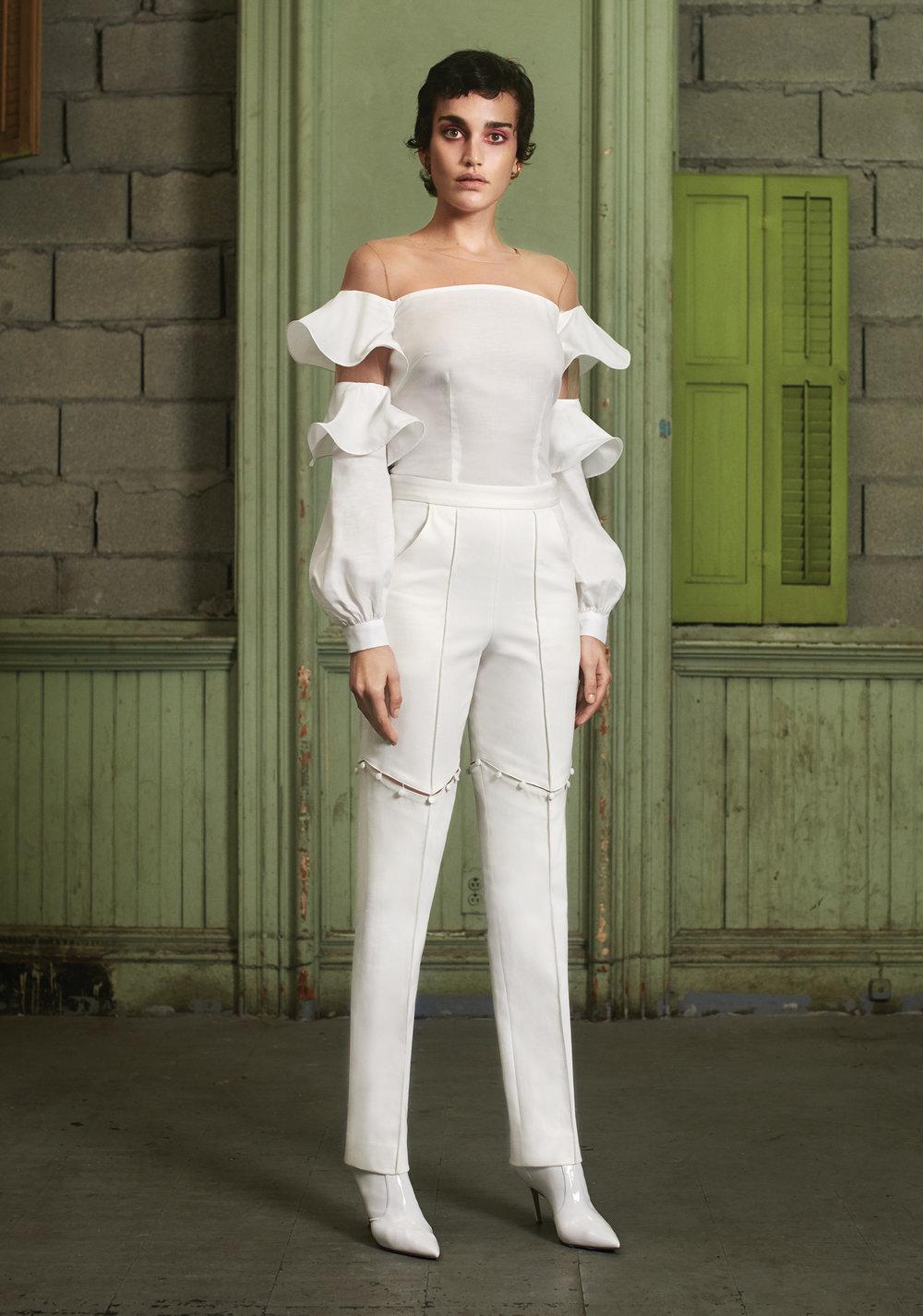 Selena Top / Henrietta Hinge Trouser